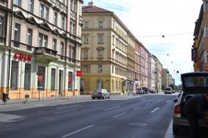 Sokolská ulice - současný stav